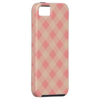 Caso rosado y poner crema del iPhone 5 de la guing iPhone 5 Case-Mate Carcasas