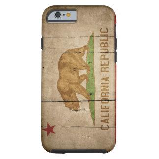 Caso rugoso del iPhone 6 de la bandera de