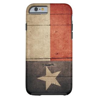 Caso rugoso del iPhone 6 de la bandera de Tejas Funda Para iPhone 6 Tough