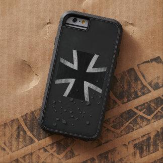 Caso rugoso del iPhone 6 de la cruz del hierro de Funda De iPhone 6 Tough Xtreme