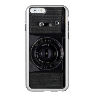 Caso ruso de Iphone de la plata de la CÁMARA del Funda Para iPhone 6 Plus Incipio Feather Shine