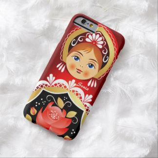 Caso ruso del iPhone 6 de la muñeca de Babushka Funda Barely There iPhone 6