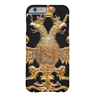 Caso ruso imperial del iPhone 6 del escudo de la Funda Barely There iPhone 6