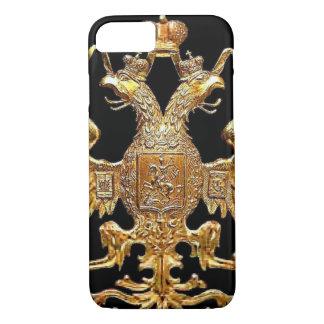 Caso ruso imperial del iPhone 7 del escudo de la Funda iPhone 7