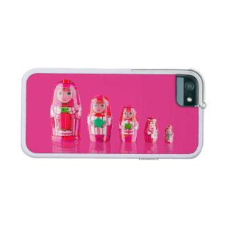 Caso ruso rosado del iPhone 6 de las muñecas de