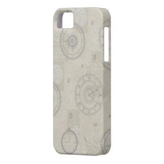 Caso rústico de Iphone 5 del vintage iPhone 5 Fundas