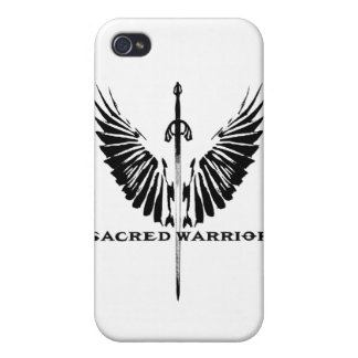 Caso sagrado del guerrero Iphone4 iPhone 4 Fundas