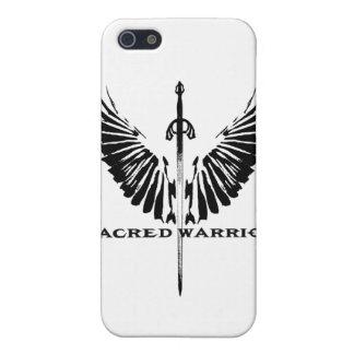 Caso sagrado del guerrero Iphone4 iPhone 5 Protectores