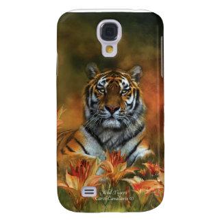 Caso salvaje del arte de los tigres para el iPhone