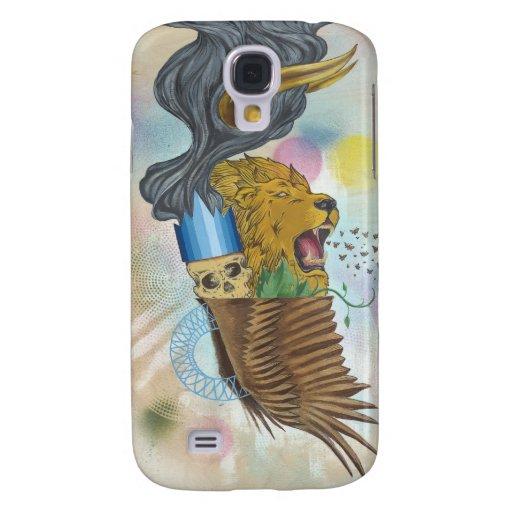 Caso salvaje del iPhone 3GS de la cosa Funda Para Galaxy S4