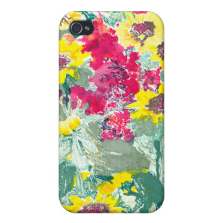 Caso salvaje del iPhone 4 de las floraciones iPhone 4 Coberturas