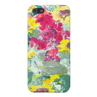 Caso salvaje del iPhone 4 de las floraciones iPhone 5 Cárcasa