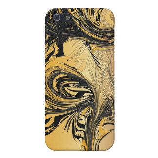 Caso salvaje del iPhone 4 del oro iPhone 5 Cárcasa