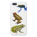 Caso salvaje del iPhone 5 de las ranas iPhone 5 Cárcasa