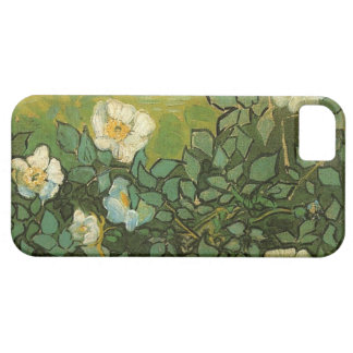 Caso salvaje del iPhone 5 de los rosas de Van Gogh iPhone 5 Fundas