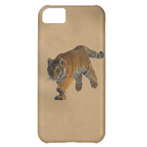 Caso salvaje del iPhone 5 del amante del tigre de