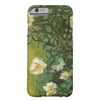 Caso salvaje del iPhone 6 de los rosas de Van Gogh Funda De iPhone 6 Slim