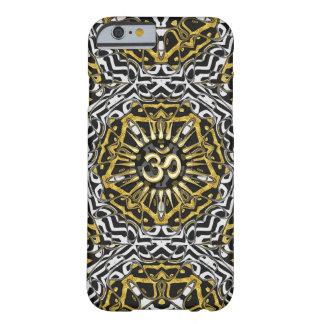 Caso salvaje del iPhone de Pentágono del oro Funda De iPhone 6 Barely There