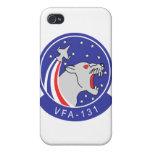 Caso salvaje del iPhone VFA-131 iPhone 4 Protector