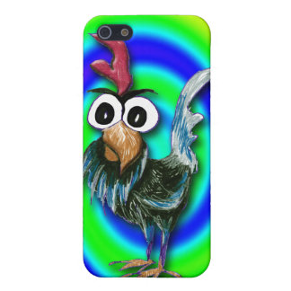 Caso salvaje y loco 2 del iPhone 4 del gallo iPhone 5 Cárcasa