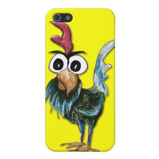Caso salvaje y loco del iPhone 4 del gallo iPhone 5 Carcasas