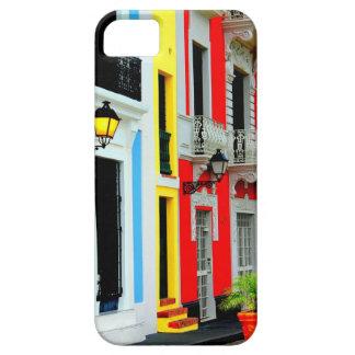 Caso San Juan viejo colorido Puerto Rico de IPHONE iPhone 5 Carcasa