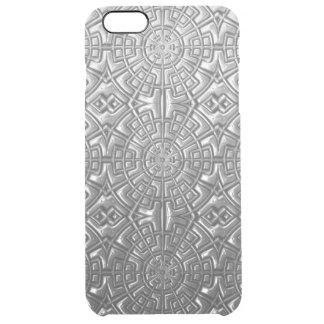 Caso sellado del iPhone del metal Funda Clearly™ Deflector Para iPhone 6 Plus De Unc