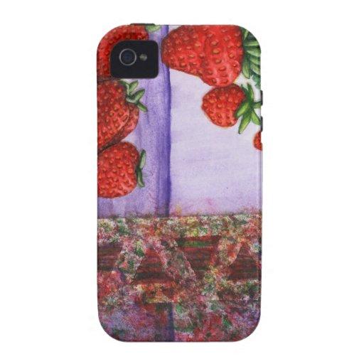 caso sellado fresa del iPhone 4 de la edición limi Vibe iPhone 4 Carcasa