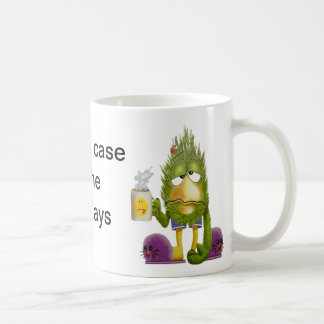 Caso severo de odio las tazas de café de lunes