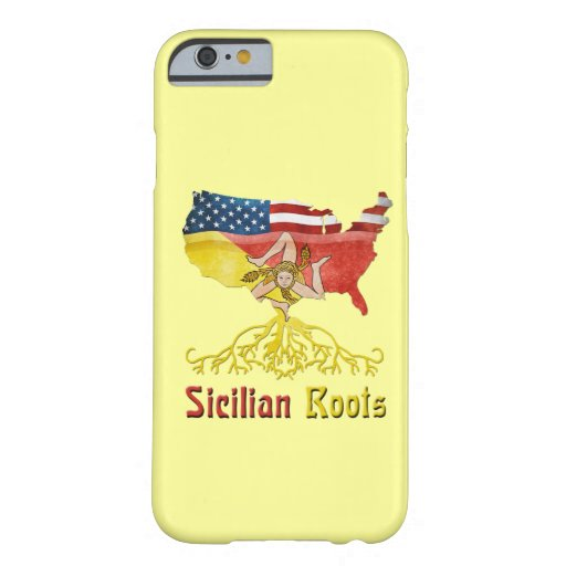 Caso siciliano americano de Smartphone del iPhone Funda De iPhone 6 Barely There