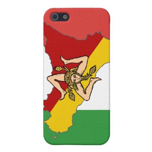 Caso siciliano del iPhone 4 iPhone 5 Protector