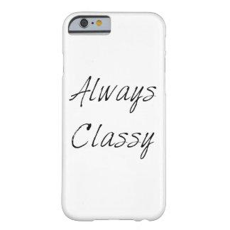 Caso siempre con clase funda para iPhone 6 barely there