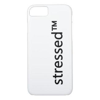 caso simple del iPhone del stressed™ Funda iPhone 7