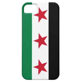Caso sirio libre de IPhone de la bandera de la rev iPhone 5 Coberturas