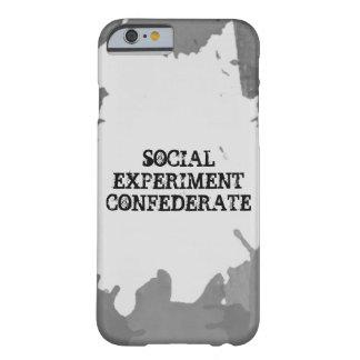 Caso social de Iphone 6 del experimento Funda Para iPhone 6 Barely There