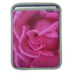 Caso SoftCover de Ipad de la floración rosada Fundas Para iPads