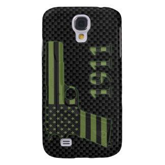 Caso sometido 1911 del iPhone 3G/3GS de la bandera Samsung Galaxy S4 Cover