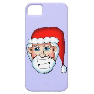 Caso sonriente de Santa Iphone 5 Funda Para iPhone SE/5/5s