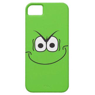 Caso sonriente del iPhone 5 de la cara del genio d iPhone 5 Case-Mate Carcasa