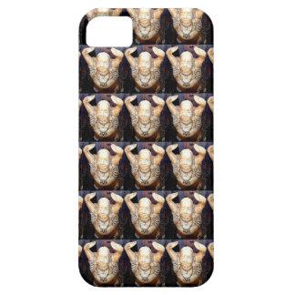 caso sonriente del modelo de Buda iPhone 5 Case-Mate Cárcasas