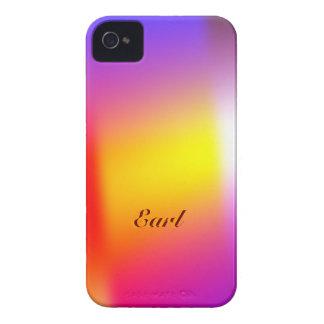 Caso suave del iPhone 4 del color de la pendiente Carcasa Para iPhone 4