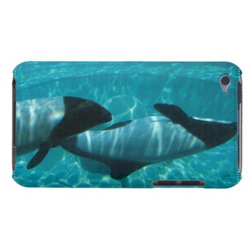 Caso subacuático de iTouch de las ballenas iPod Case-Mate Funda