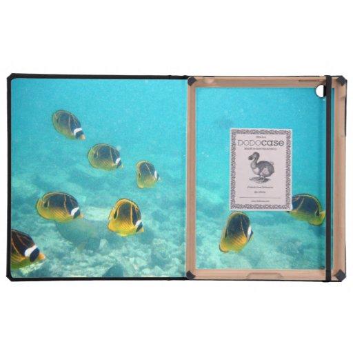 Caso subacuático del iPad del DODO de los pescados iPad Protectores