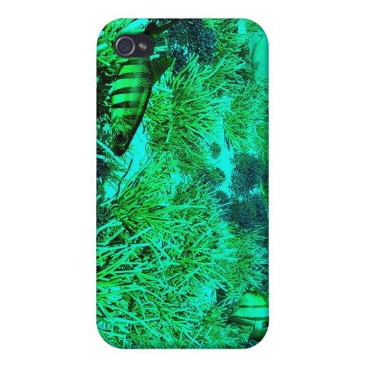 caso subacuático del iphone 3d iPhone 4/4S carcasas