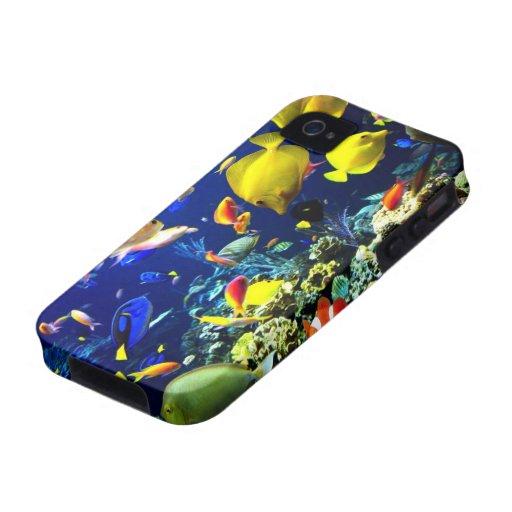 Caso subacuático del iPhone 5-6 Vibe iPhone 4 Funda