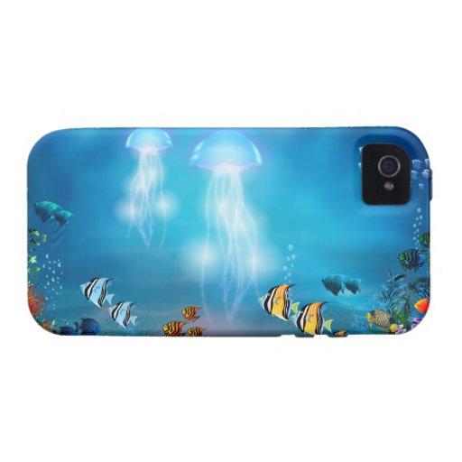 Caso subacuático del iPhone 7 iPhone 4/4S Fundas