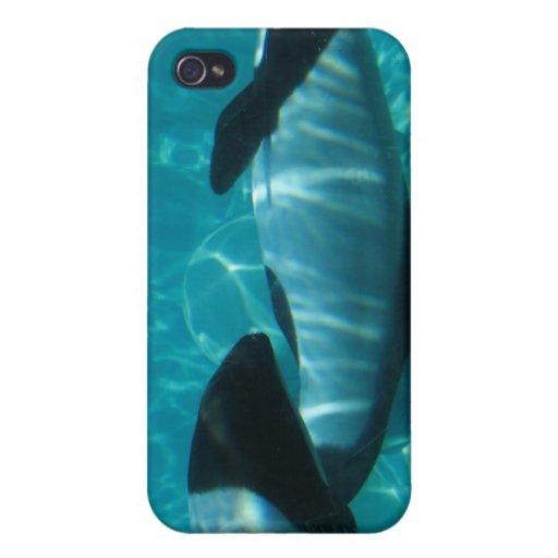 Caso subacuático del iPhone de las ballenas iPhone 4 Cobertura