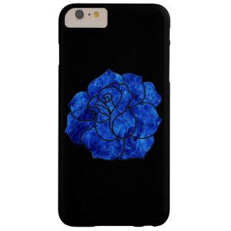 Caso subió fuego azul del iPhone 6 Funda Barely There iPhone 6 Plus