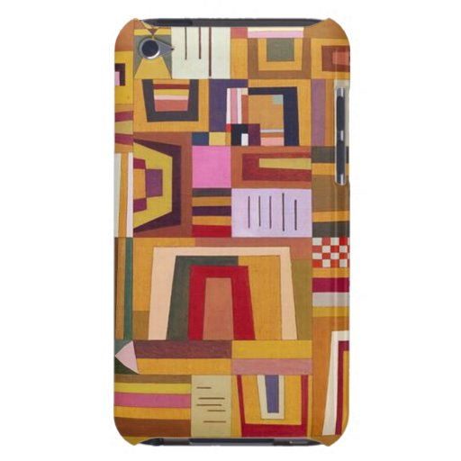 Caso subió remuneración del tacto de Kandinsky iPo iPod Touch Carcasa