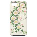 Caso subió vid rosada del iPhone 5 de Nishimura iPhone 5 Carcasa